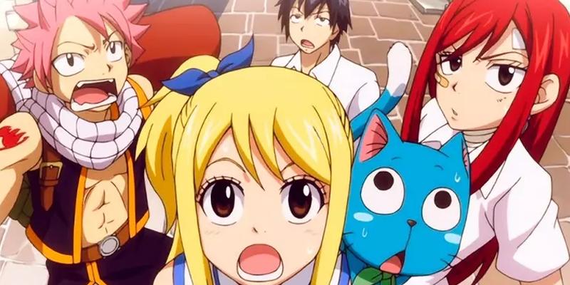 Fairy Tail ganha data de estreia na Loading