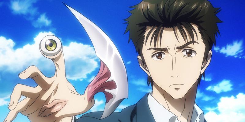 5 animes de ação e romance pra quem gosta do gênero - Parasyte