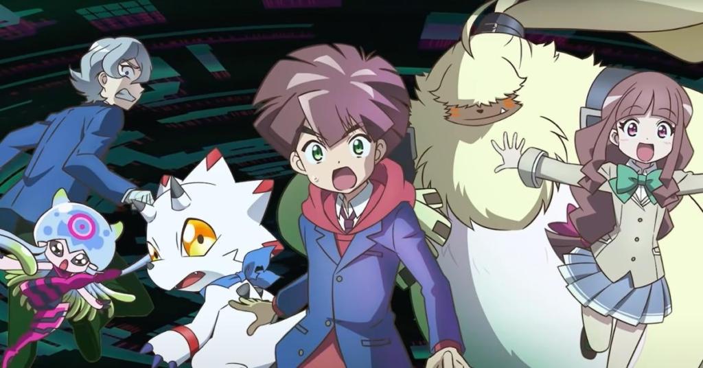 Digimon: Ghost Game tem primeiro trailer